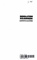 Desolation Wilderness PDF