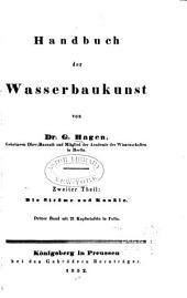 Handbuch der Wasserbaukunst: Teil 2,Band 3