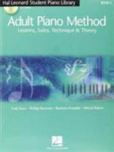 Hal Leonard Adult Piano Method
