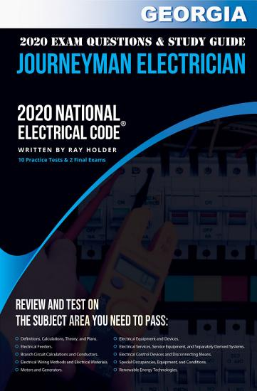 Georgia 2020 Journeyman Electrician Exam Questions and Study Guide PDF