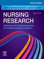 Study Guide for Nursing Research   E Book PDF