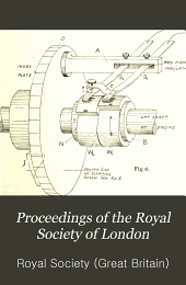 Proceedings of the Royal Society of London: Containing papers of a Mathematical and Physical character, Volume 80