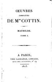 Mathilde: Volume1