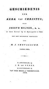 Geschiedenis der kerk van Christus: Volume 5