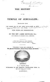 The History of the Temple of Jerusalem
