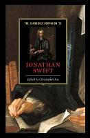 The Cambridge Companion to Jonathan Swift PDF
