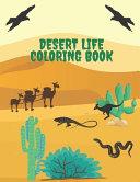 Desert Life Coloring Book