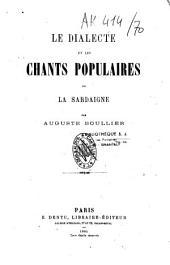 Le dialecte et les chants populaires de la Sardaigne