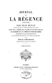 Journal de la régence (1715-1723)