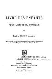 Livre des enfants pour l'étude du français: Livre1