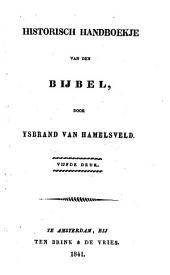 Historisch handboekje van den Bijbel: Volume 1