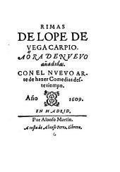 Rimas de Lope de Vega: Volumen 1