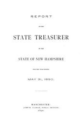 Report of the State Treasurer for the Fiscal Year Ending ...