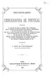 Diccionario da chorographia de Portugal ...