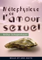 Métaphysique de l'amour sexuel