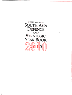 South Asia Defence and Strategic Year Book PDF