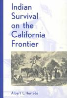 Indian Survival on the California Frontier PDF