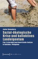 Sozial   kologische Krise und kollektives Landeigentum PDF