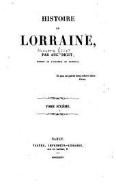 Histoire de Lorraine: Volume6