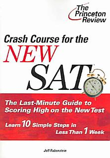 Crash Course for the New SAT Book