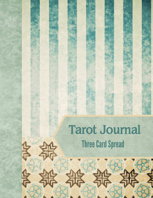 Tarot Journal Three Card Spread   Sage Stripe