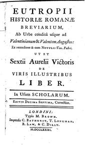 Historiae Romanae breviarium ...