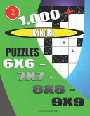 1000 + Kakuro Puzzles 6x6 - 7x7 - 8x8 - 9x9