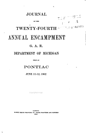 Journal of the Annual Encampment: Volumes 24-30