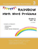 Rainbow Math Word Problems Grade 3 PDF