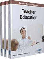 Teacher Education  Concepts  Methodologies  Tools  and Applications PDF