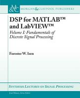 DSP for MATLABTM and LabVIEWTM I PDF