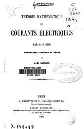 Théorie mathématique des courants électriques
