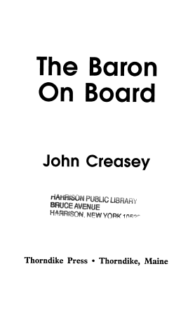 The Baron on Board PDF