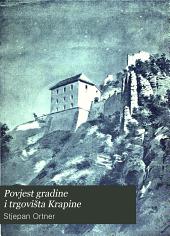 Povjest gradine i trgovišta Krapine