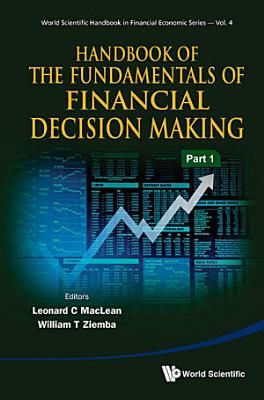 Handbook of the Fundamentals of Financial Decision Making