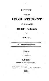 Letters from an Irish student in England to his father in Ireland