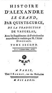 Histoire d'Alexandre le Grand: Volume2