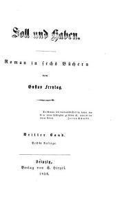 Soll und Haben: Roman in sechs Büchern, Band 3
