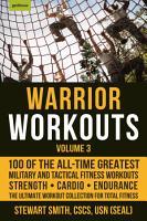 Warrior Workouts  Volume 3 PDF