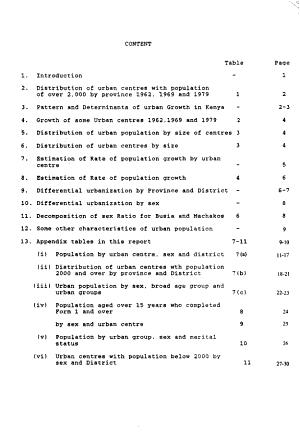 Kenya Population Census  1979  Urban population PDF