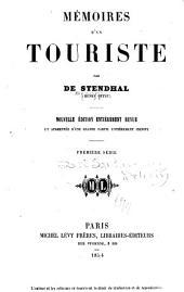 Mémoires d'un touriste: Volume1