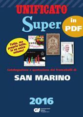 CATALOGO SUPER 2016 - CAPITOLO SAN MARINO