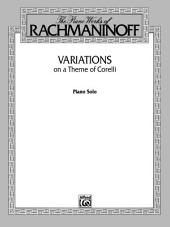Variations on a Theme of Corelli: Advanced Piano Solo
