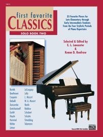 First Favorite Classics  Solo  Book 2