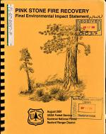 Kootenai National Forest (N.F.), Pink Stone Fire Recovery and Associated Activities