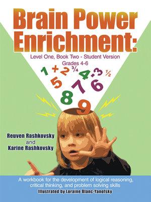Brain Power Enrichment  Level One  Book Two Student Version Grades 4 6