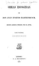 Obras escogidas de Don Juan Eugenio Hartzenbusch PDF