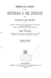 Compendio de la historia de la República O. del Uruguay: Volúmenes 3-4