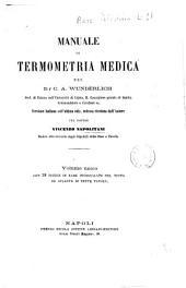 Temperatura nelle malattie o Manuale di termometria medica