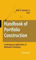 Handbook of Portfolio Construction PDF